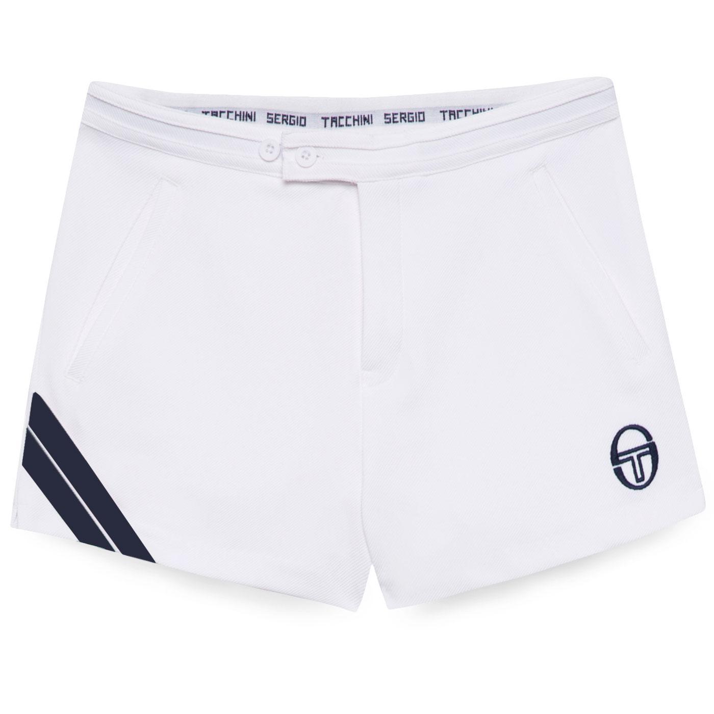 Time SERGIO TACCHINI Retro 70s Tennis Shorts W/N
