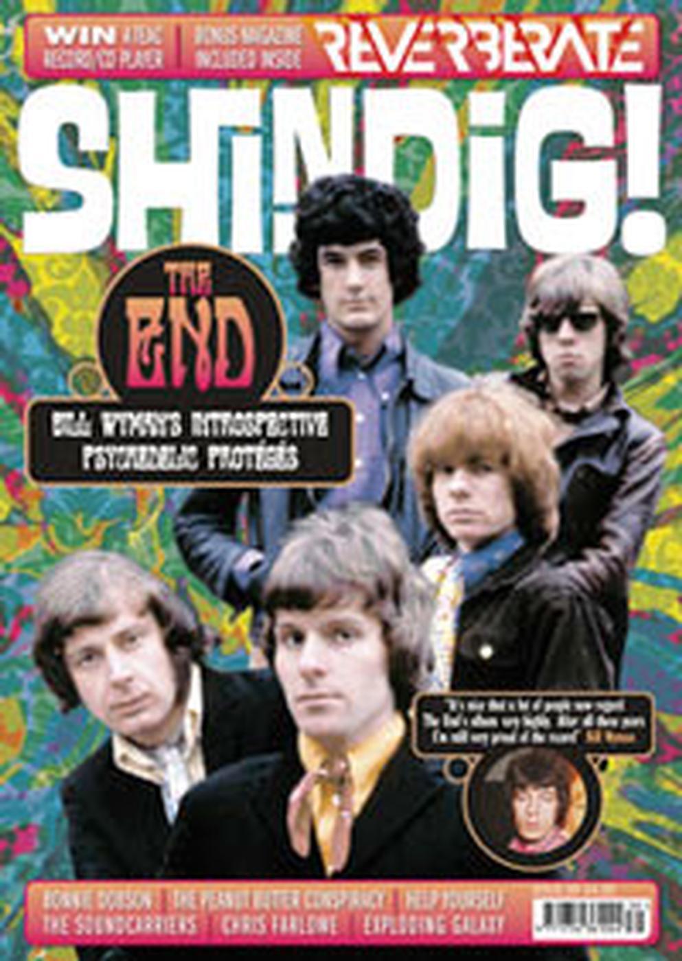 + SHINDIG! MAGAZINE Issue 39 Bill Wyman's The End