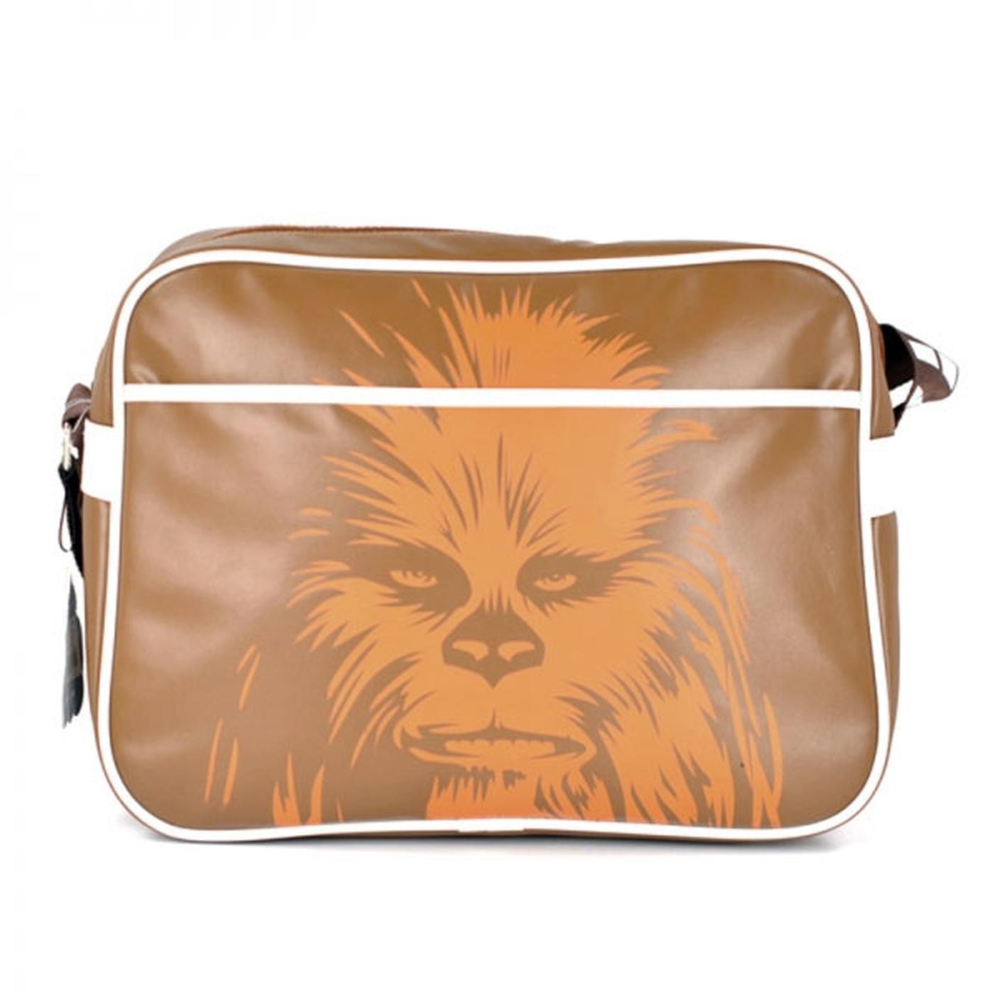 Star Wars Chewbacca Print Retro Shoulder Bag
