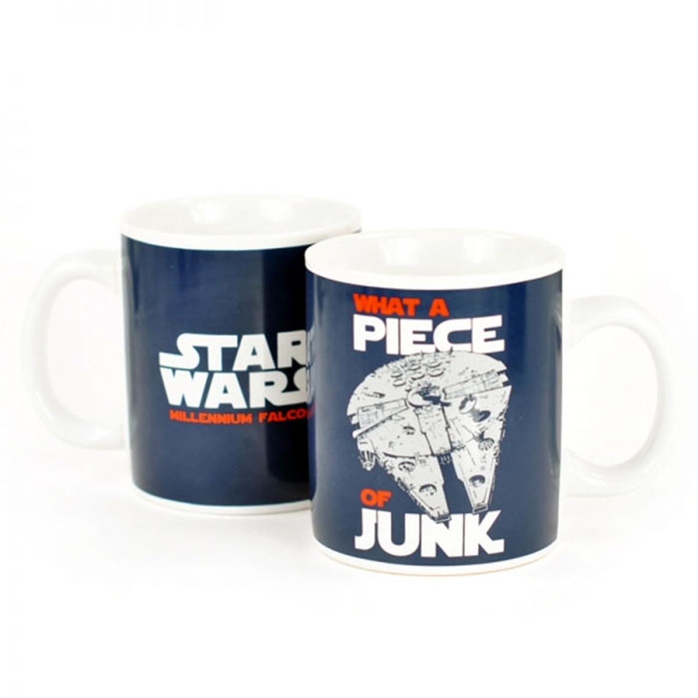 Star Wars Piece Of Junk Millennium Falcon Mug
