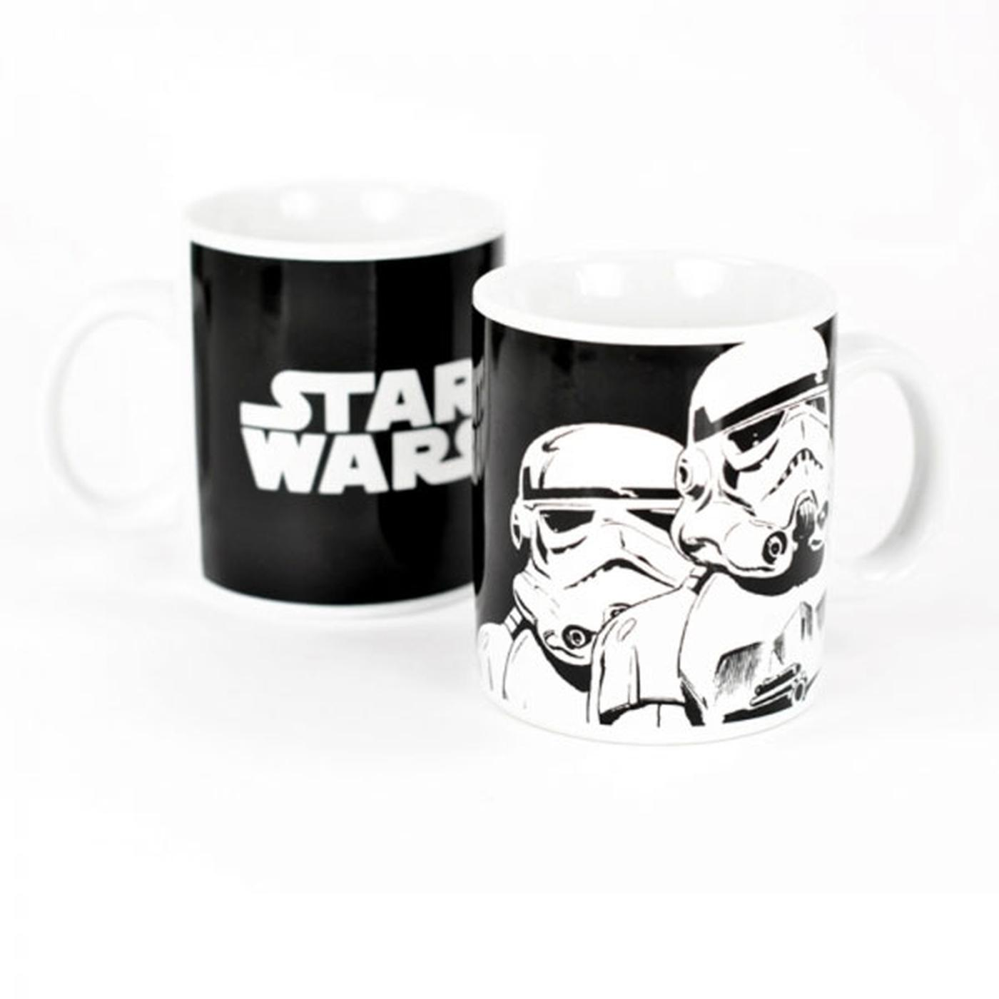 Star Wars Storm Trooper Dark Side Retro 70s Mug