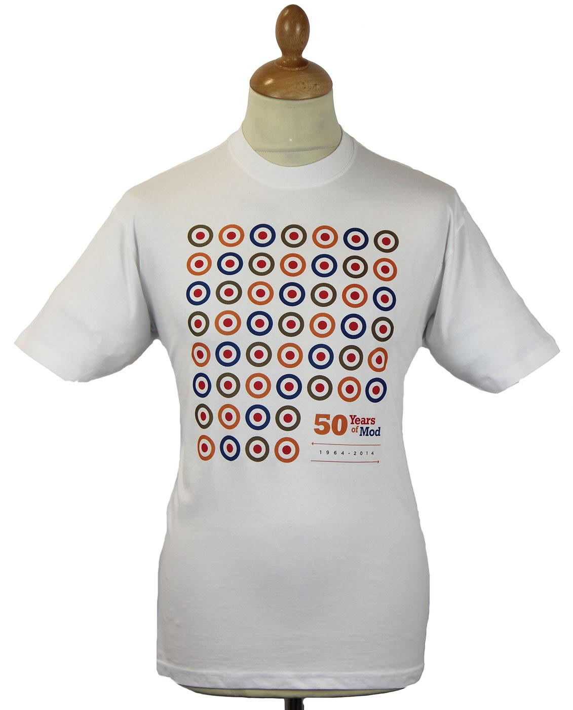 50 Mod Targets STOMP Mods 50th Anniversary T-Shirt