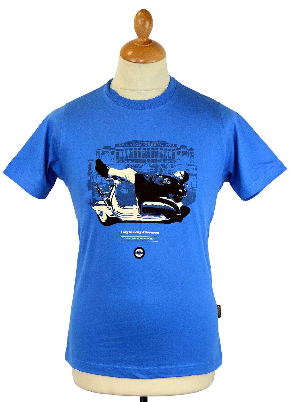 Lazy Sunday Afternoon STOMP 50 Years of Mod Tee B