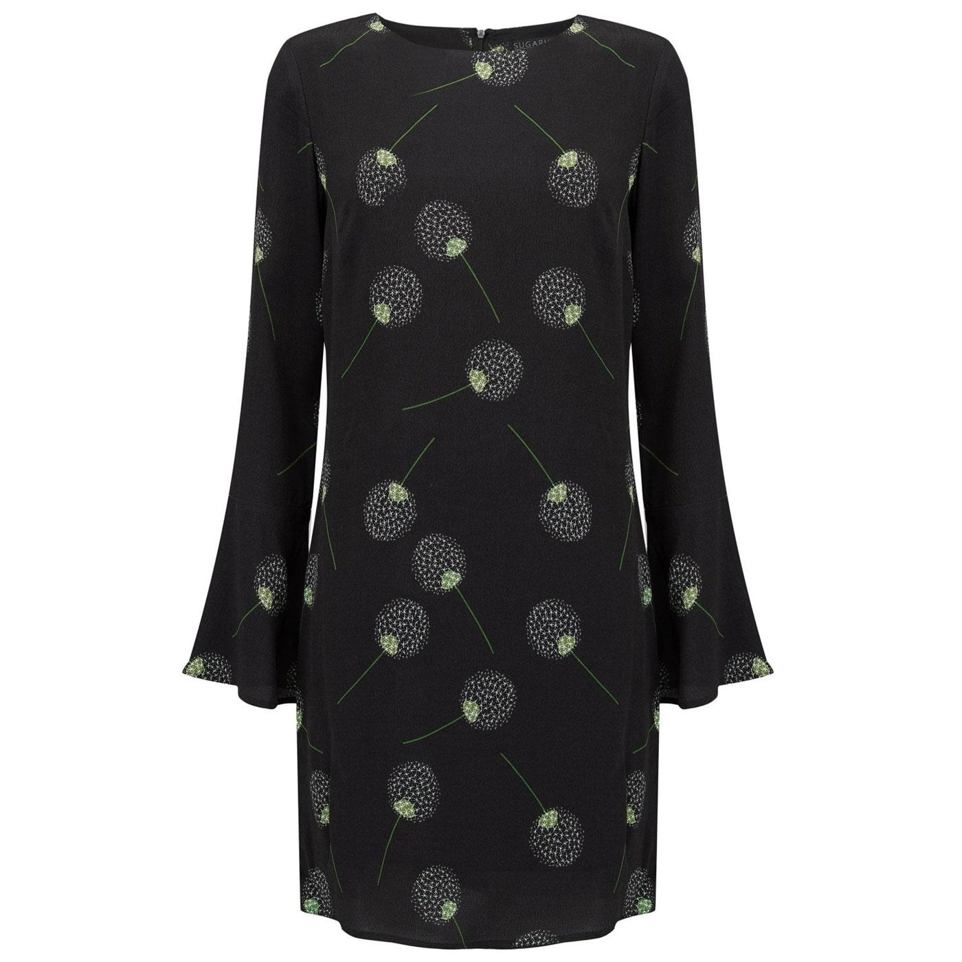 Misty Dandelion SUGARHILL BOUTIQUE 60s Dress Black