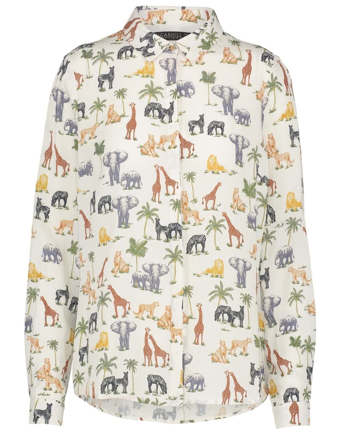 Blair SUGARHILL BOUTIQUE Retro Wild Animal Shirt