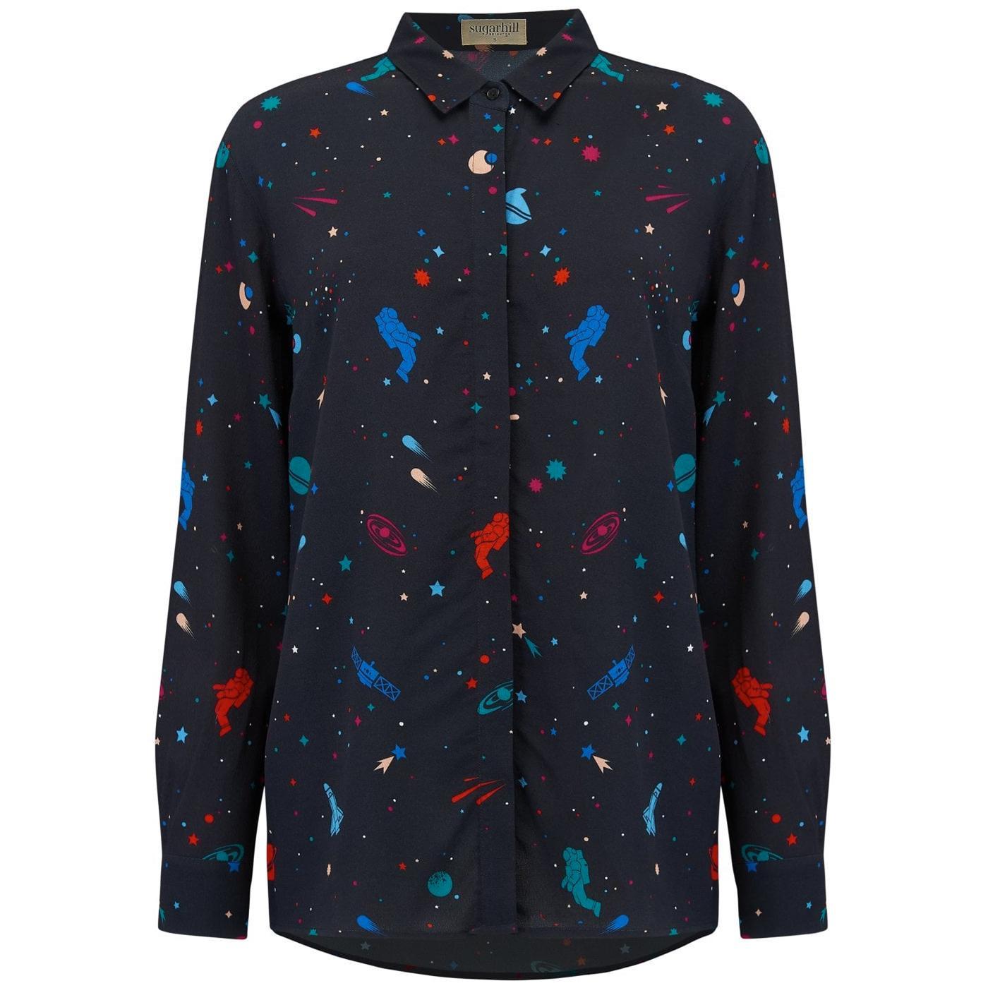 Joy SUGARHILL BRIGHTON Cosmic Retro Space Shirt