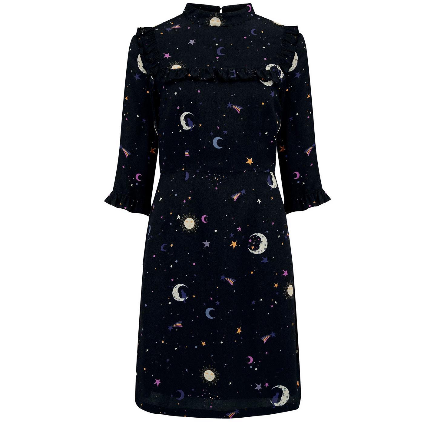 Cynthia SUGARHILL BRIGHTON Retro Stars Frill Dress