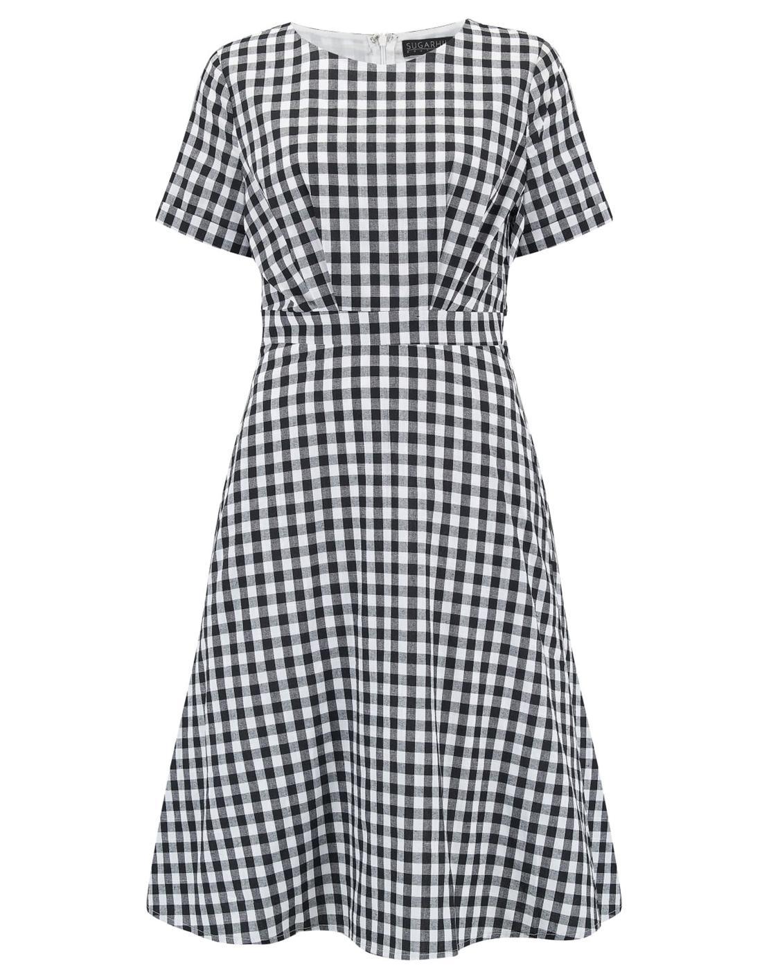 Jaya SUGARHILL BOUTIQUE Retro Gingham Mod Dress
