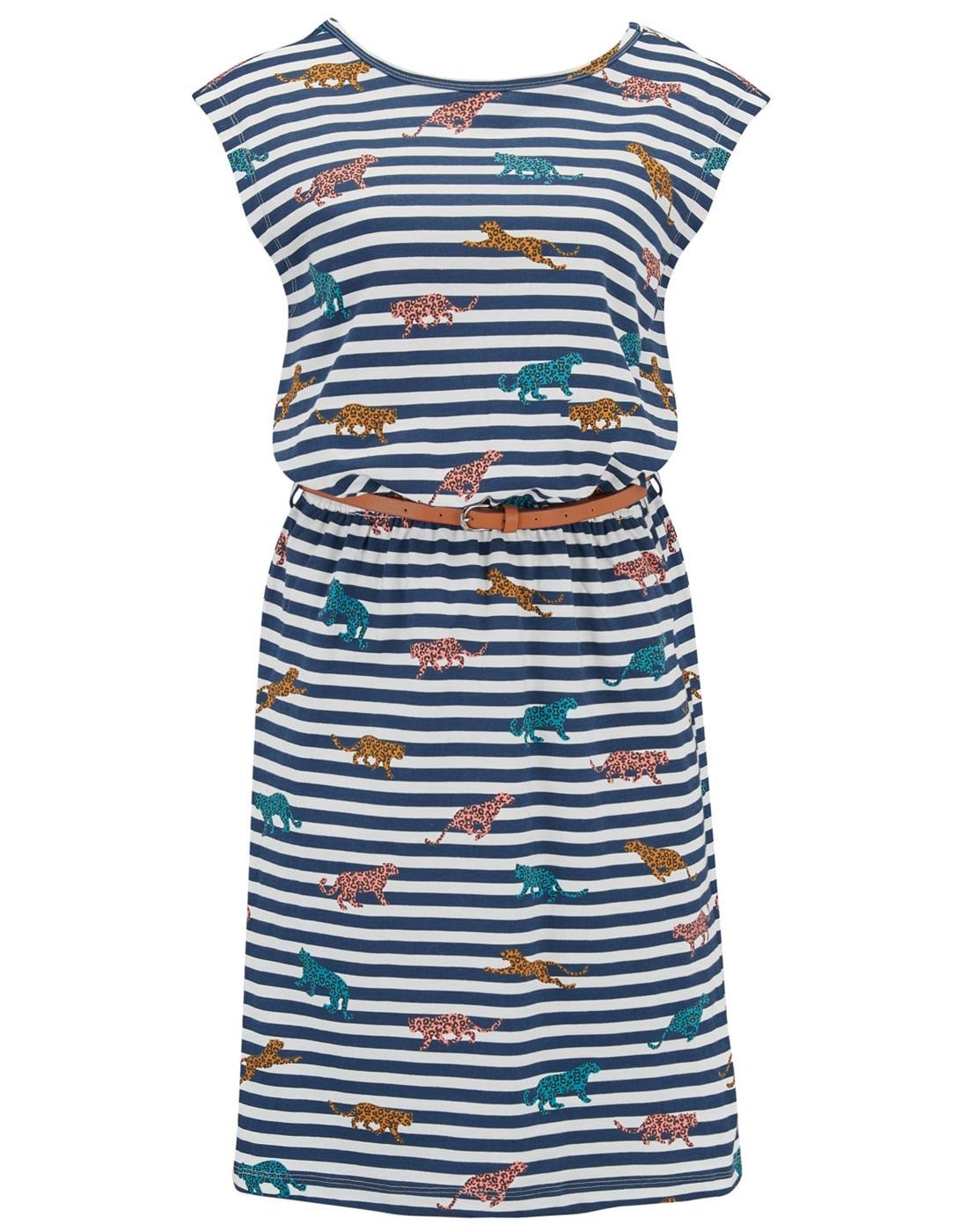 Hetty SUGARHILL BOUTIQUE Retro Leopard Print Dress