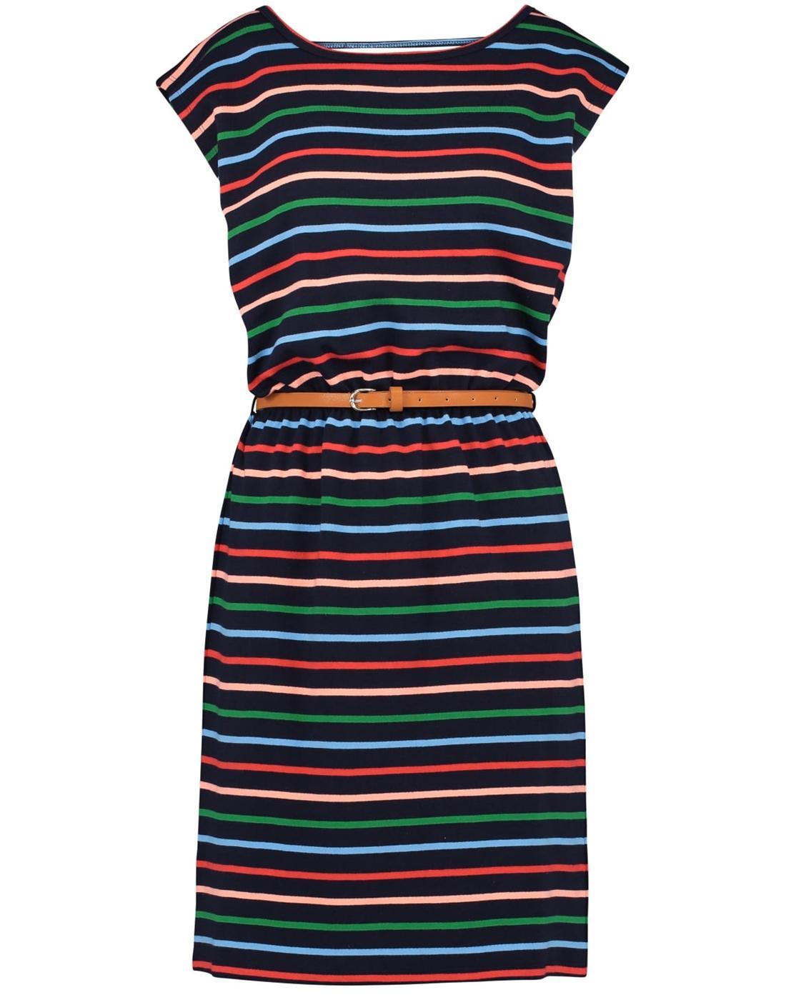Hetty SUGARHILL BOUTIQUE Retro Striped 70s Dress