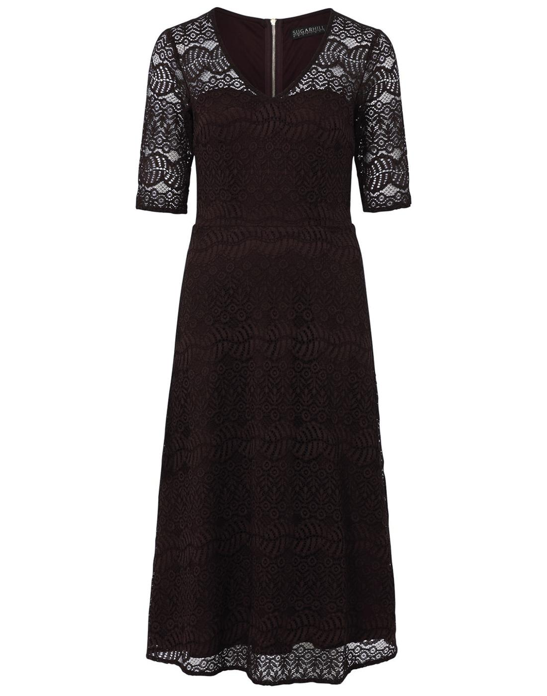Imelda SUGARHILL BOUTIQUE Retro Vintage Lace Dress