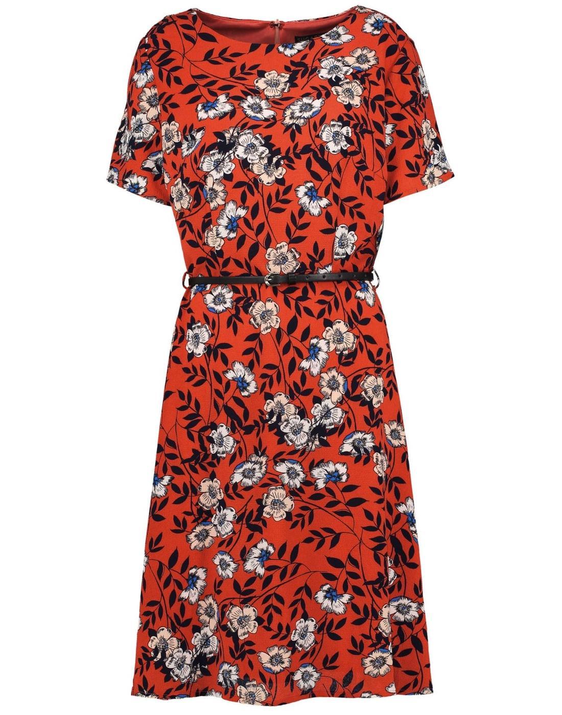 Ohara SUGARHILL BOUTIQUE Retro Floral Tea Dress R