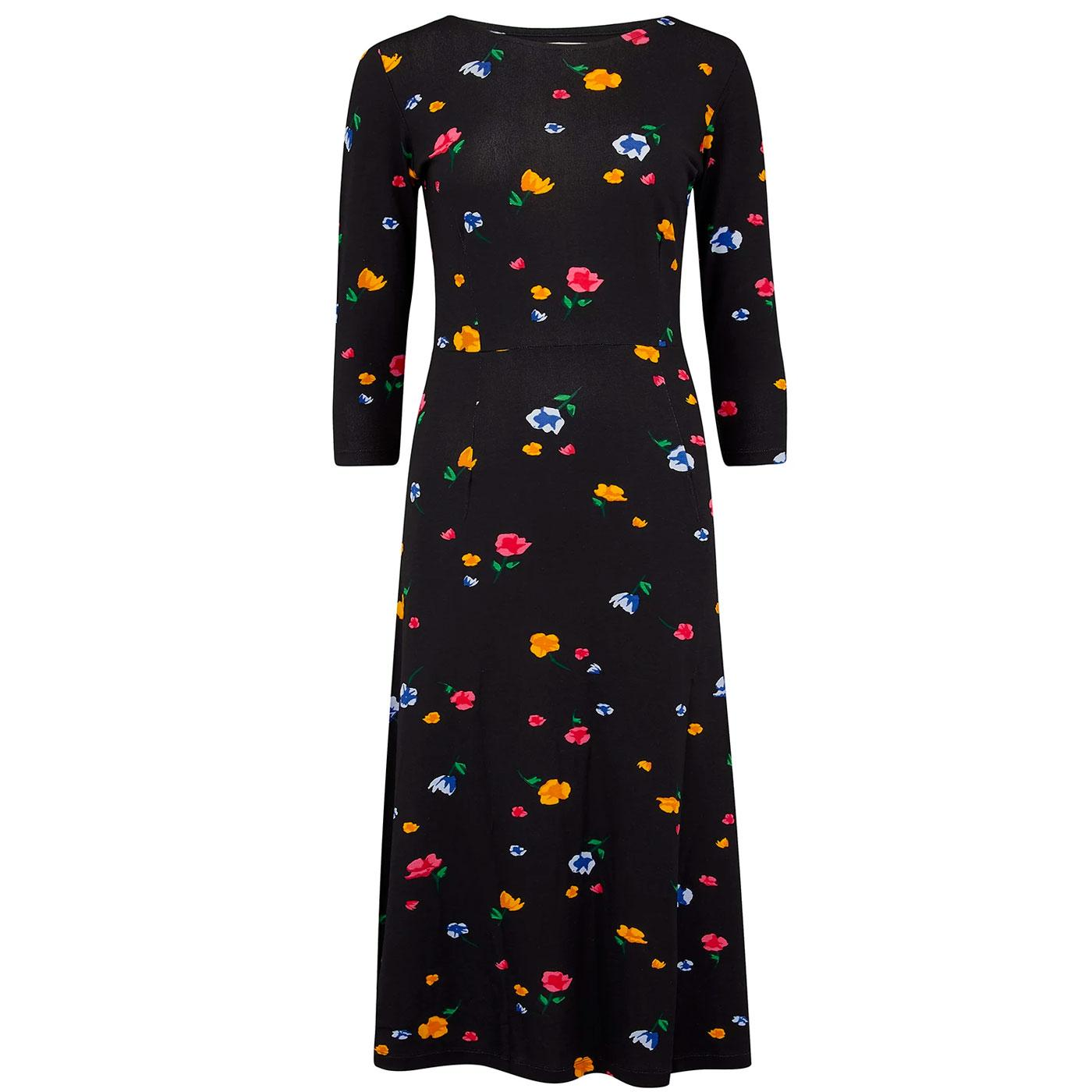 Nixie SUGARHILL BRIGHTON Painterly Floral Dress