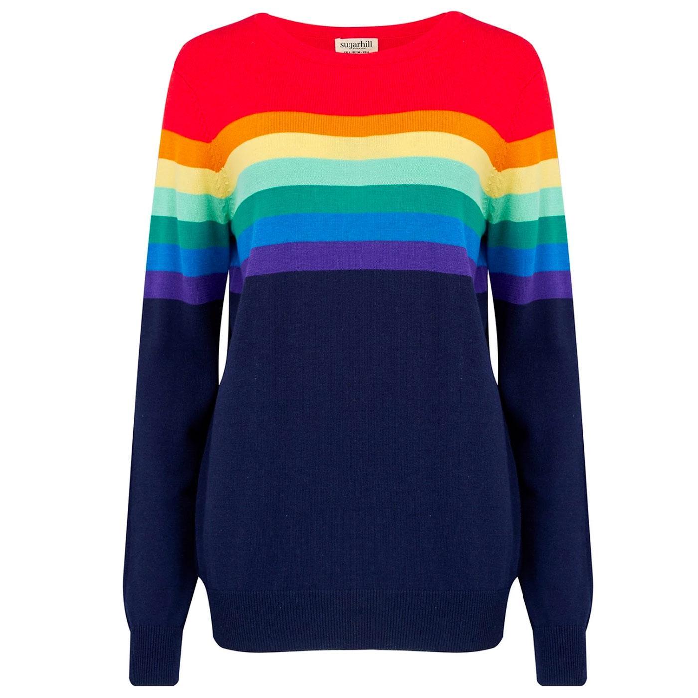 Rita SUGARHILL BRIGHTON Gradient Stripe Sweater