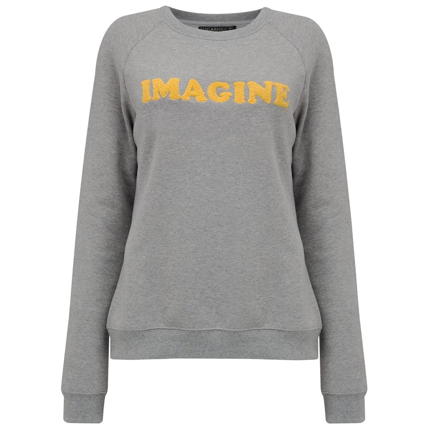Laurie SUGARHILL BOUTIQUE Imagine Sweatshirt Grey