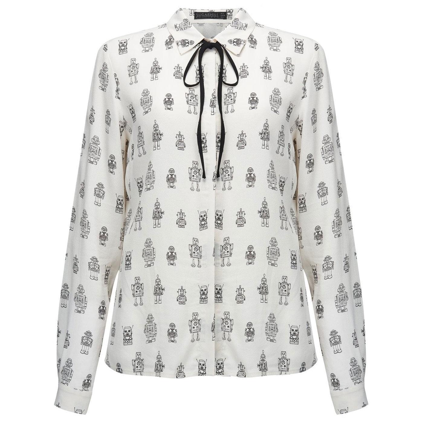 Catrina Robo Pop SUGARHILL BOUTIQUE 50s Shirt O/W