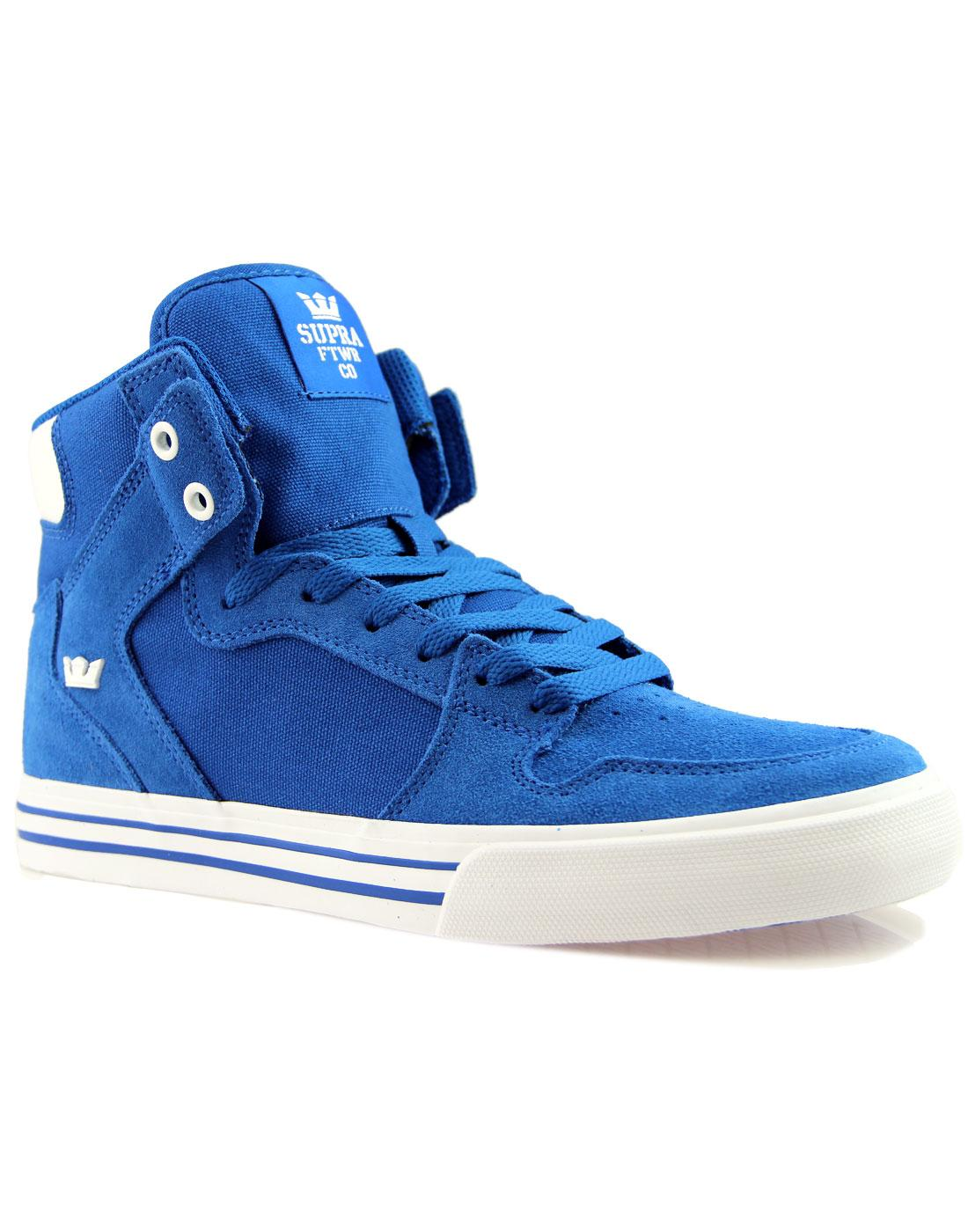 Vaider SUPRA Retro 90s Hi Top Board Trainers OCEAN