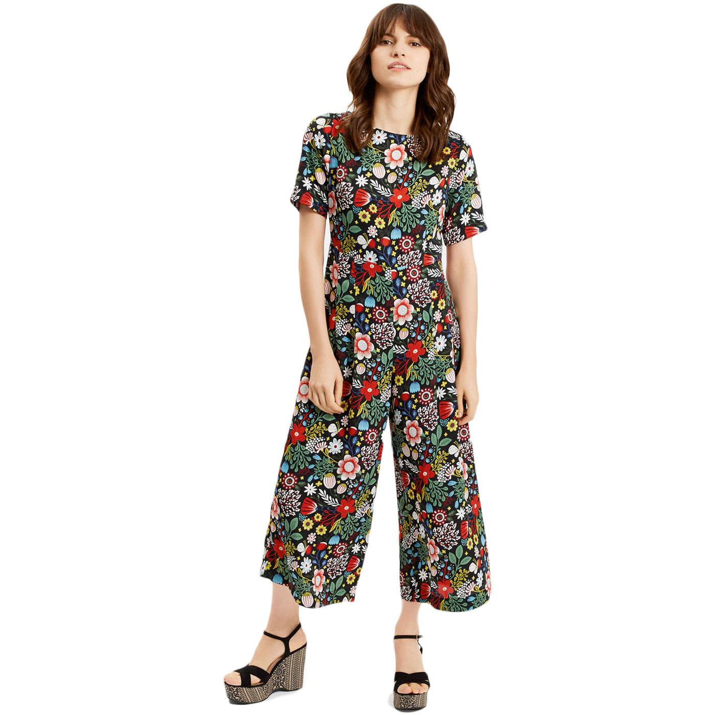 Bianca TRAFFIC PEOPLE Retro 70s Floral Jumpsuit