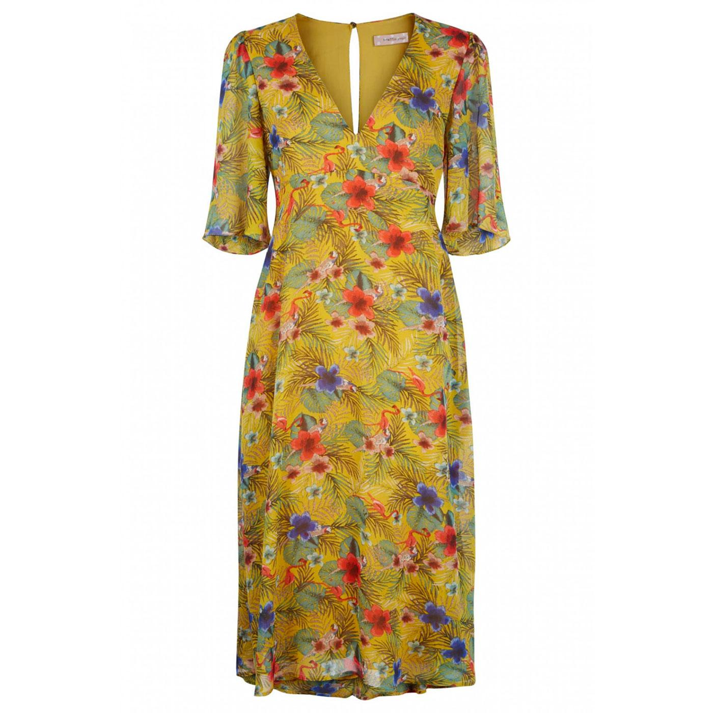 Blithe TRAFFIC PEOPLE Retro 60s Summer Dress