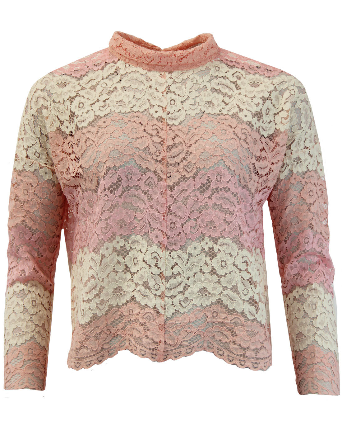 Forgotten Modesty TRAFFIC PEOPLE Floral Lace Top