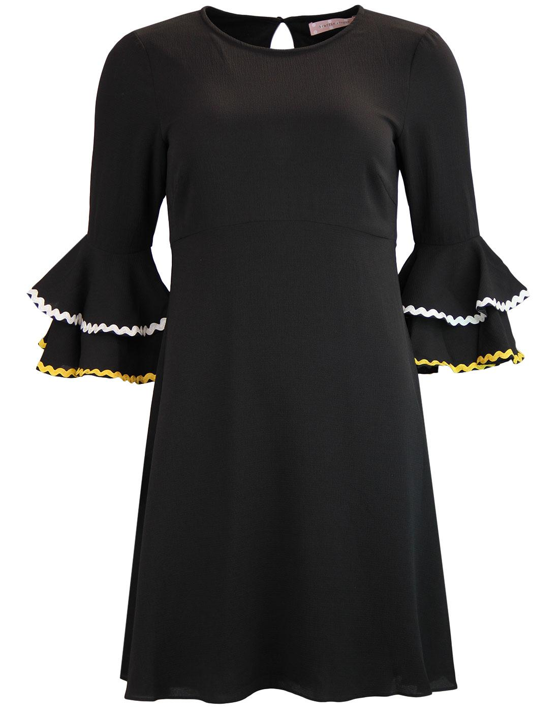 Luck Be A Lady TRAFFIC PEOPLE Ruffle Sleeve Dress