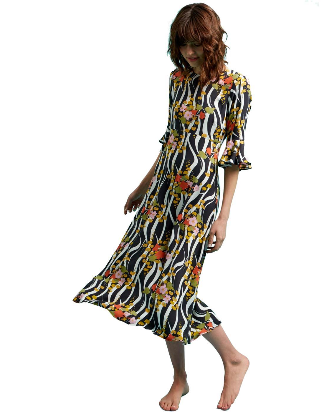 Luck Be A Lady TRAFFIC PEOPLE Zebra Print Dress