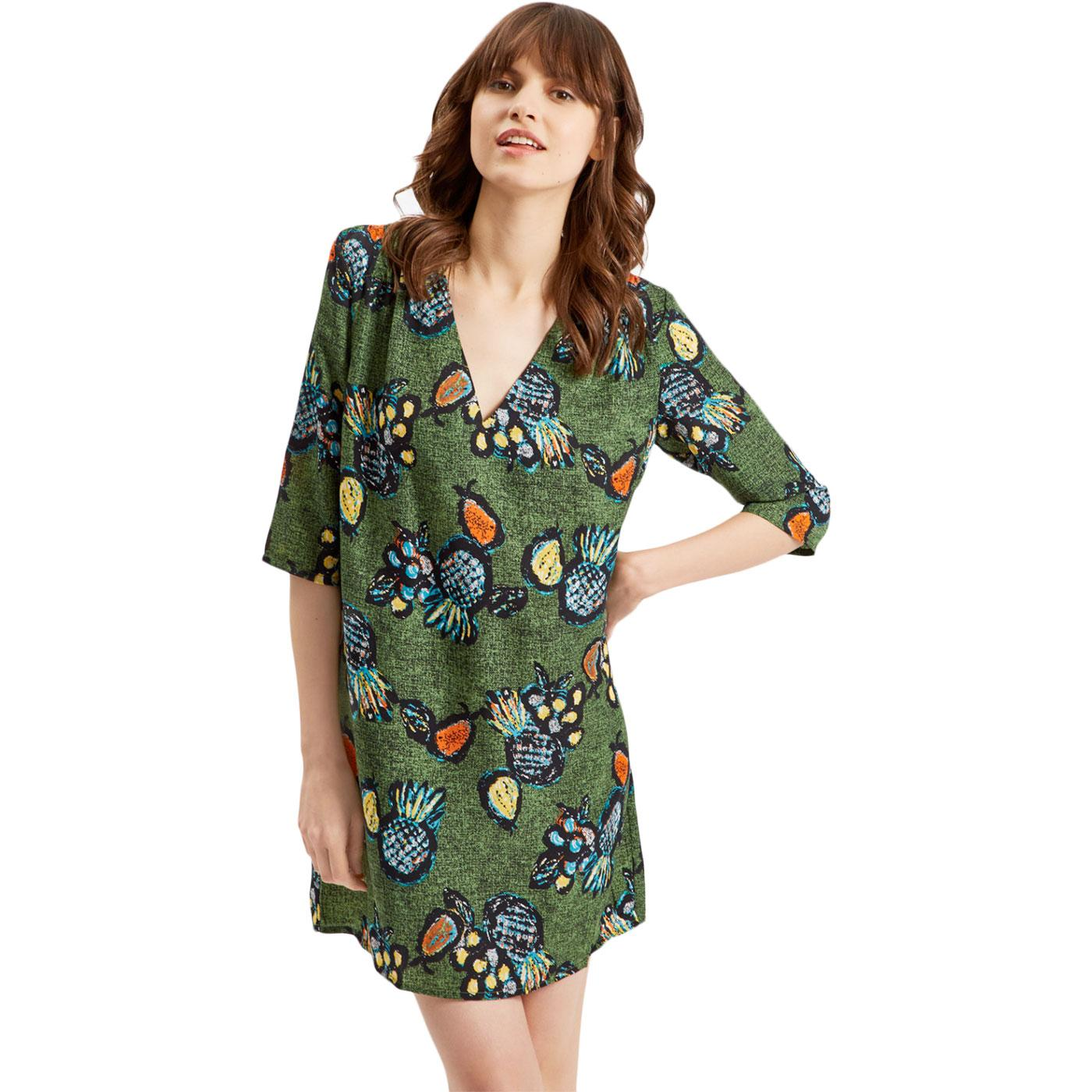 Molly TRAFFIC PEOPLE Tropicana Print Summer Dress
