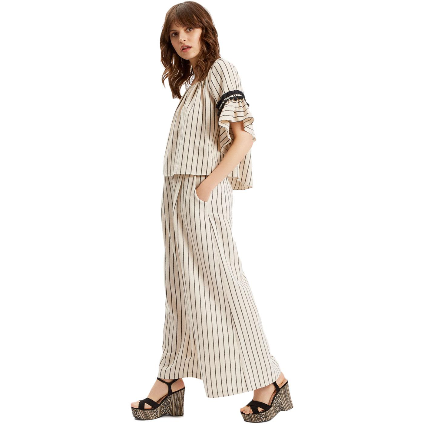 TRAFFIC PEOPLE Retro Wide Leg Trousers & Gypsy Top