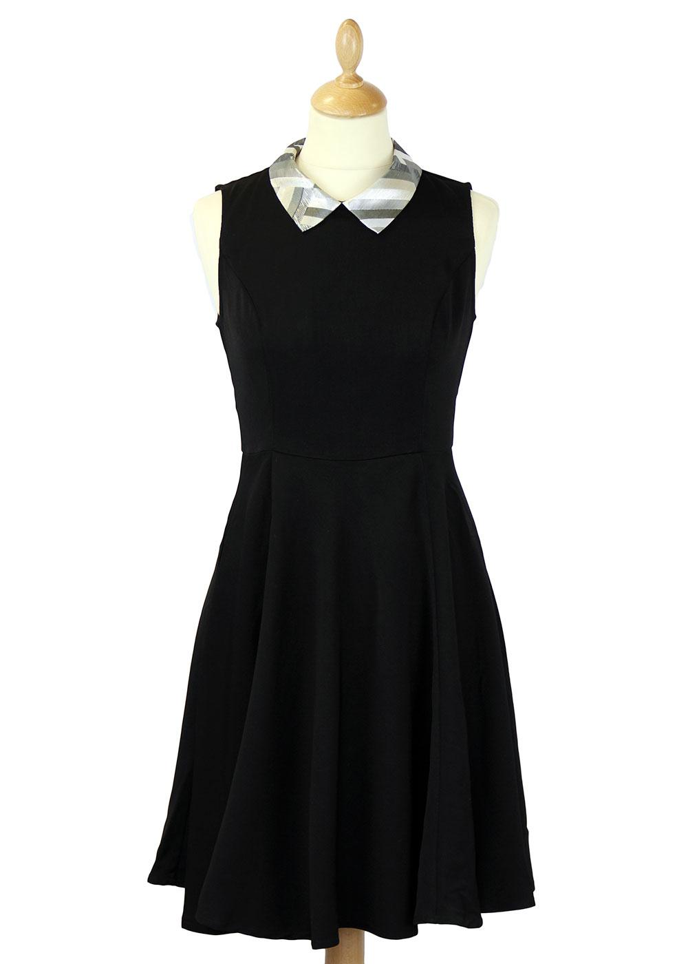 Any Given Moment TRAFFIC PEOPLE Retro 70s Dress