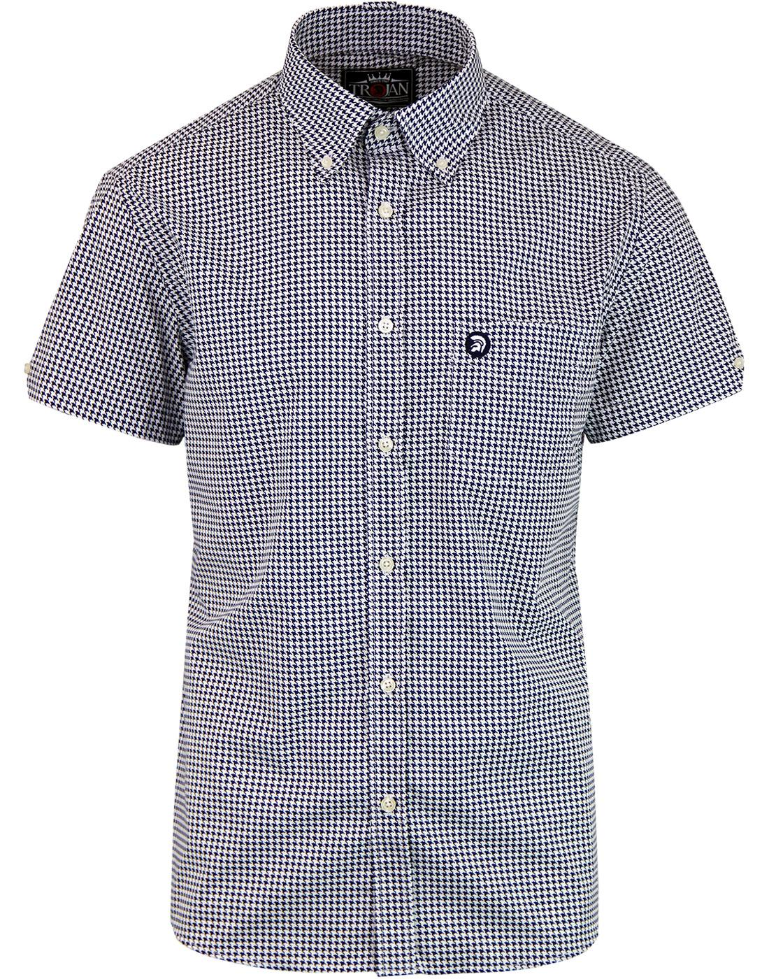 TROJAN RECORDS Retro Ska Mod Dogtooth S/S Shirt