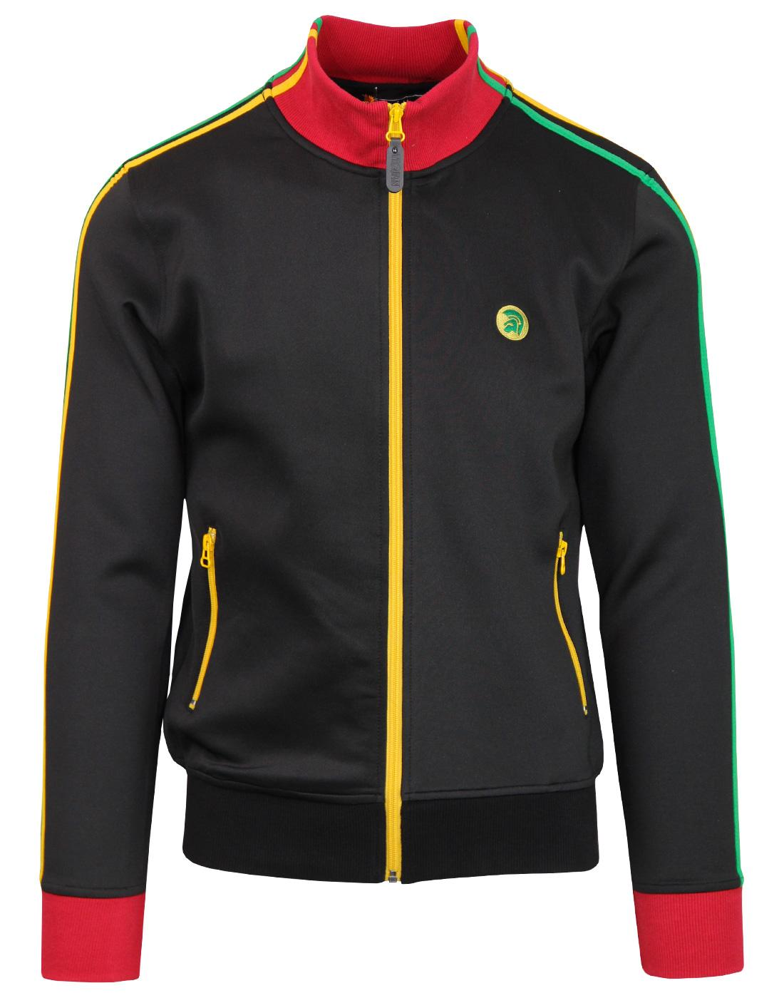 TROJAN RECORDS Mod Ska Rasta Stripe Track Jacket