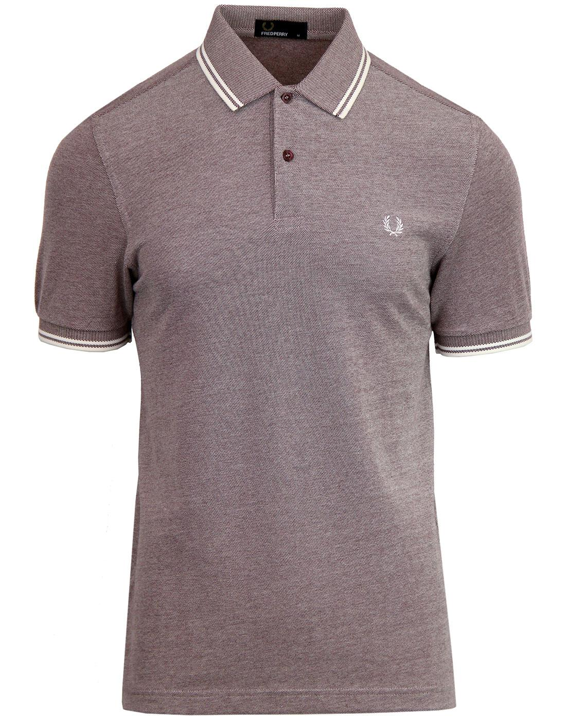 FRED PERRY M3600 Mod Twin Tipped Polo Shirt - MM