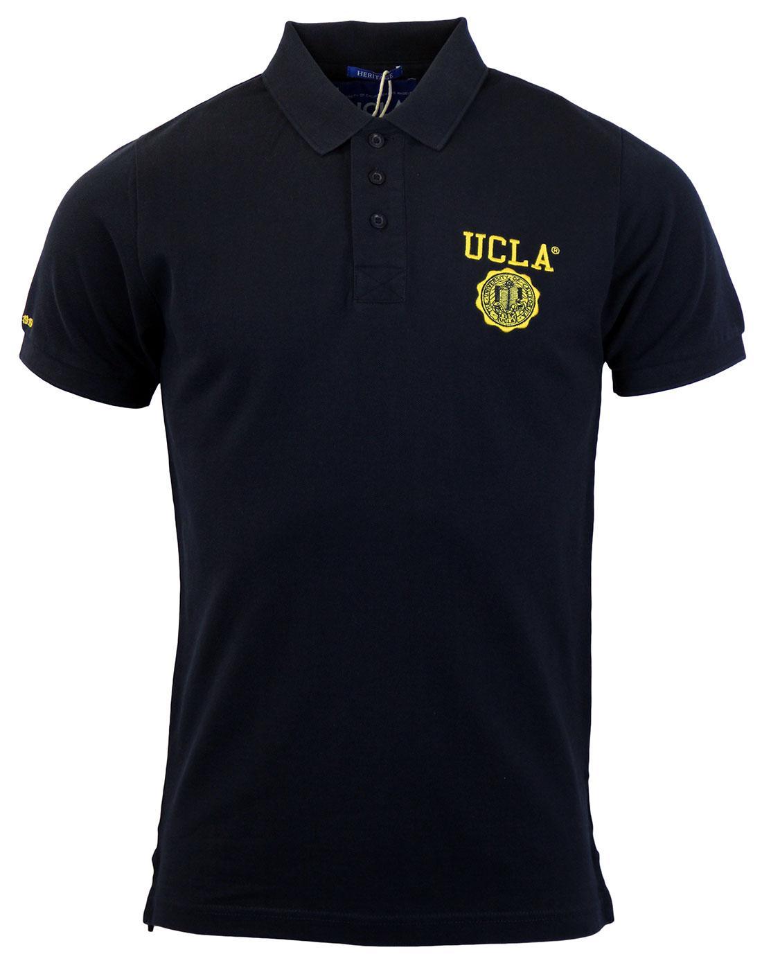 Anderson UCLA Retro 70s Classic Collegiate Polo P