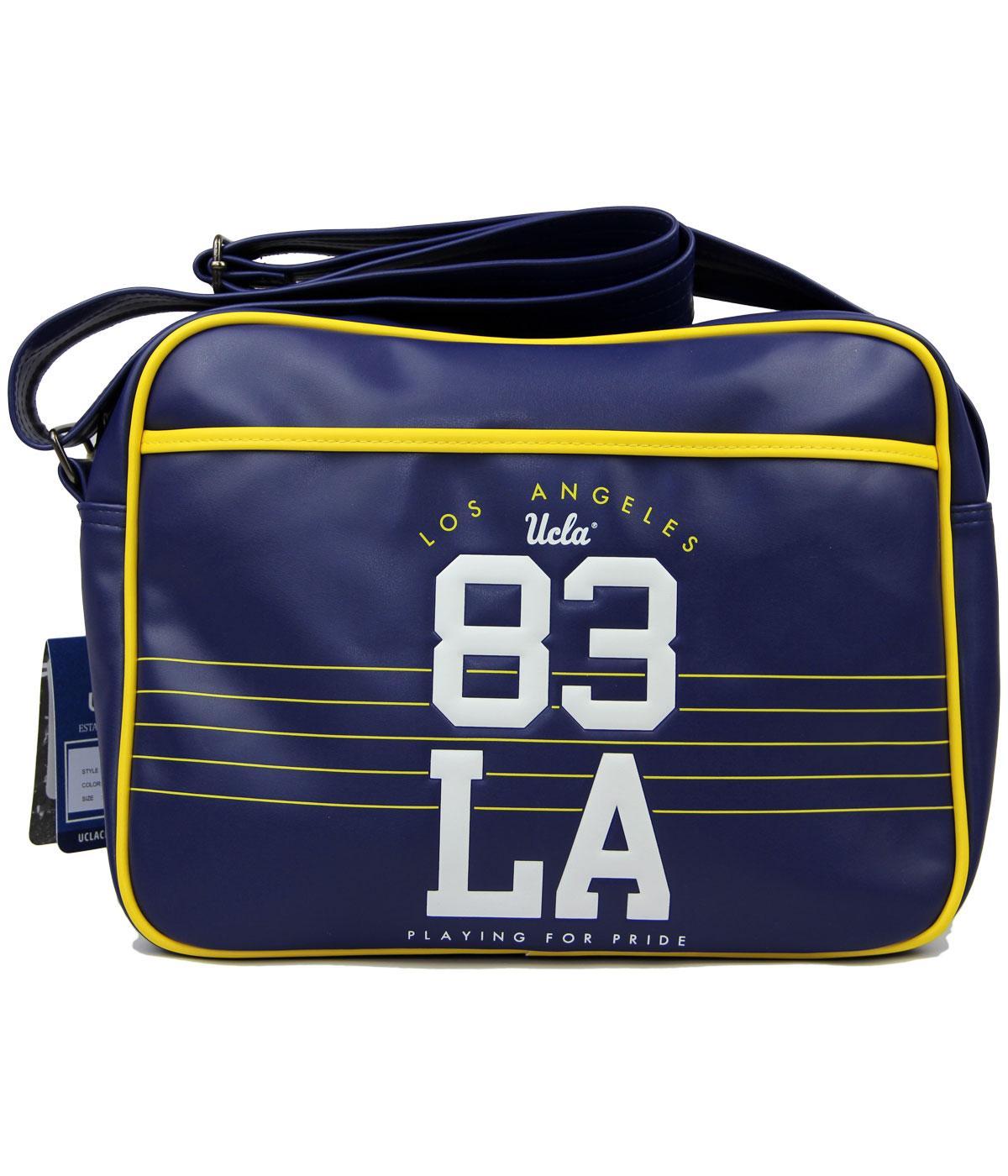 Trevor UCLA Retro 80s Indie Varsity Shoulder Bag B