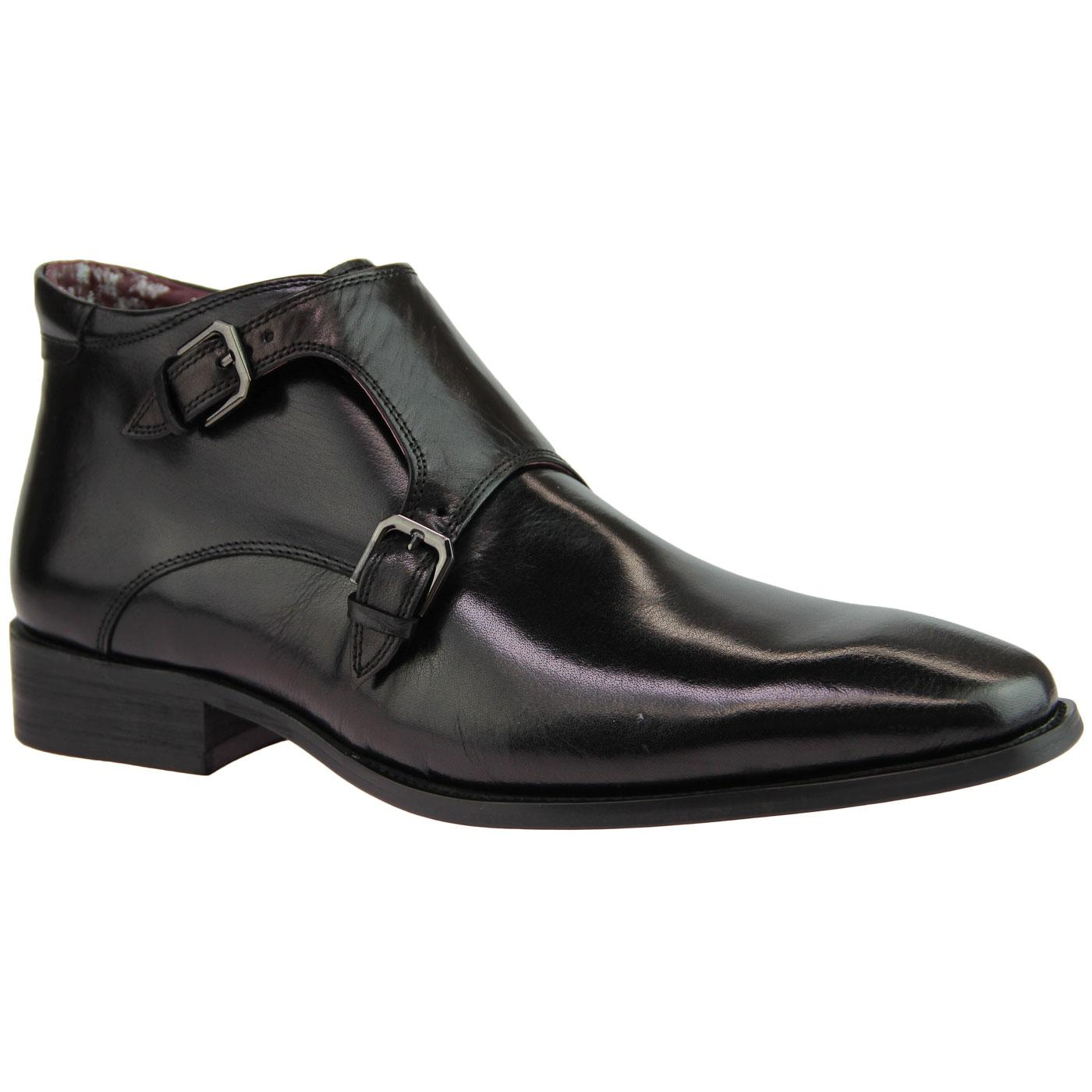 Swinford PAOLO VANDINI Monk Strap Ankle Boots (B)