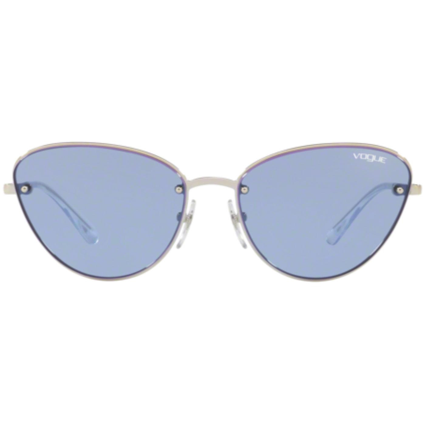 VOGUE Retro 60s Flat Front Cats-Eye Sunglasses V