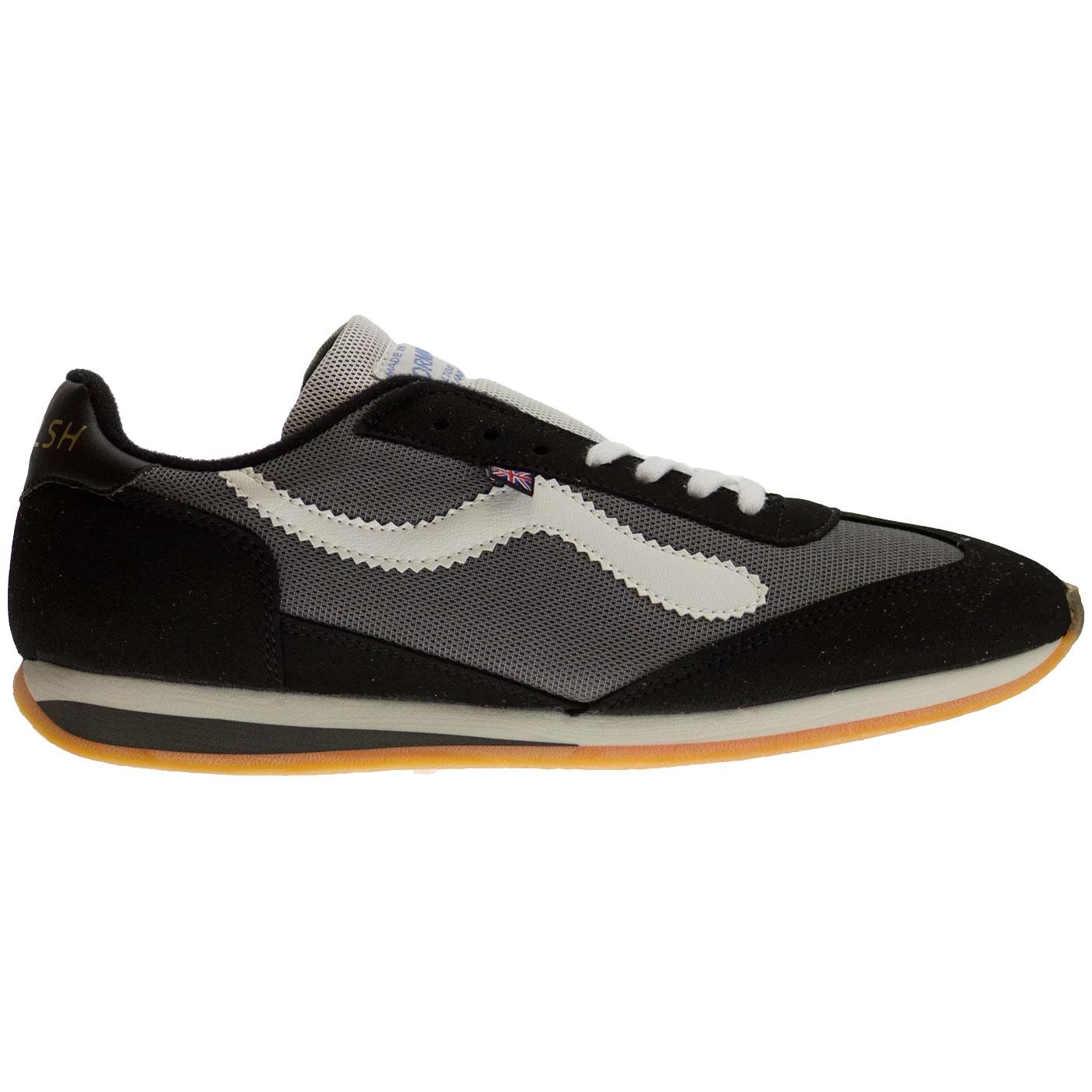 Fierce WALSH Men's 1970's Retro Running Trainers B