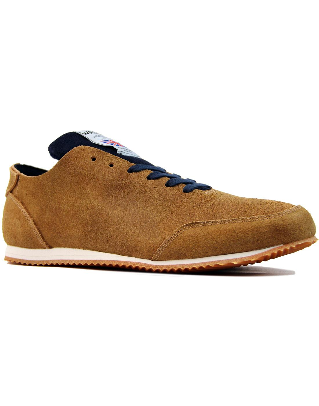 Gymmie WALSH Made in England Veg Tan Trainers (C)