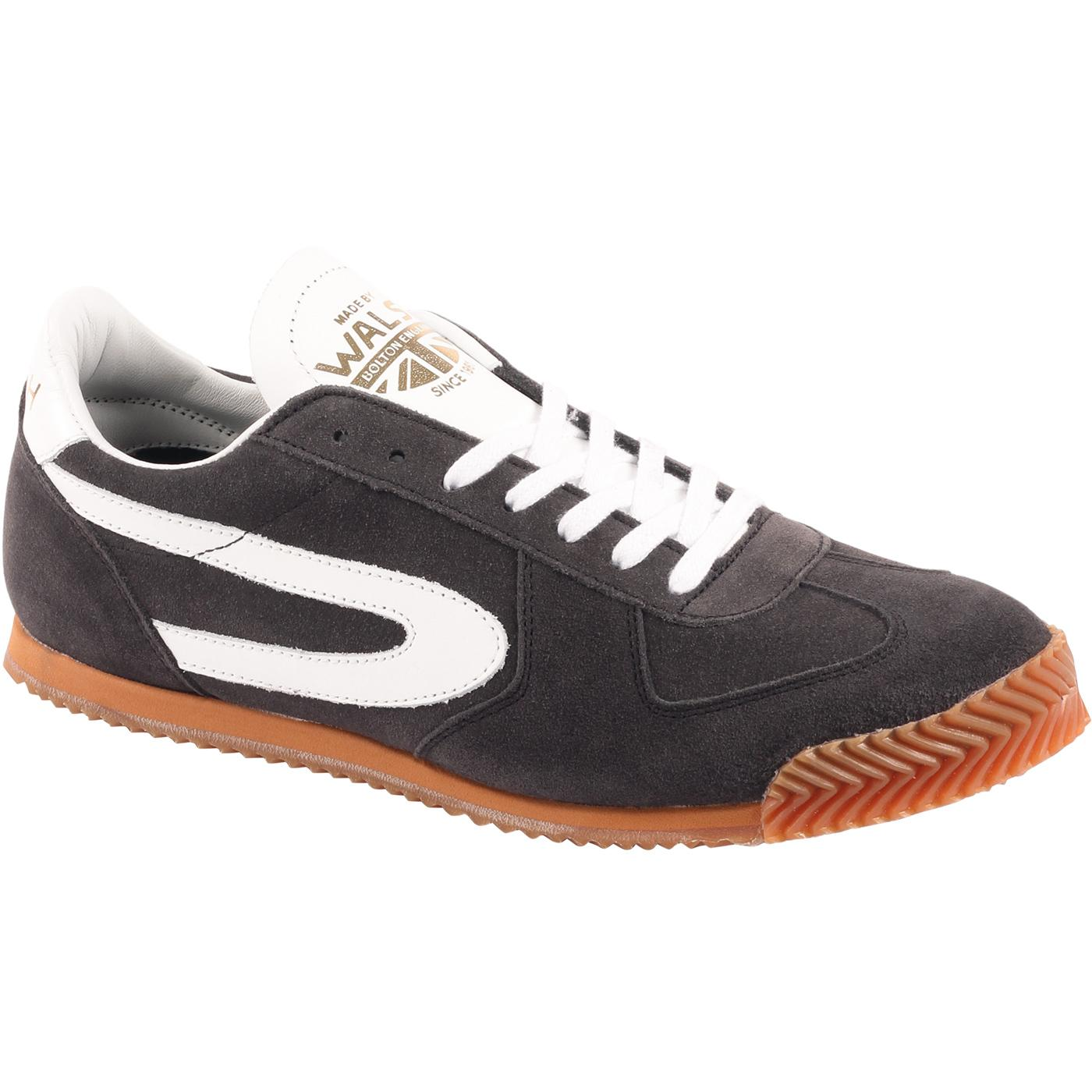 Tokyo 20 WALSH Retro 1970s Sports Trainers In Grey