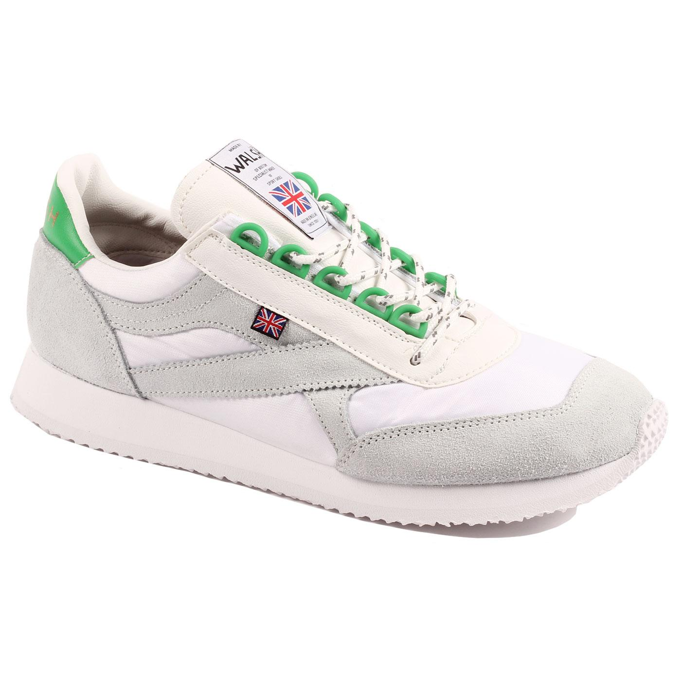Voyager WALSH Retro Made in England Trainers (W/G)