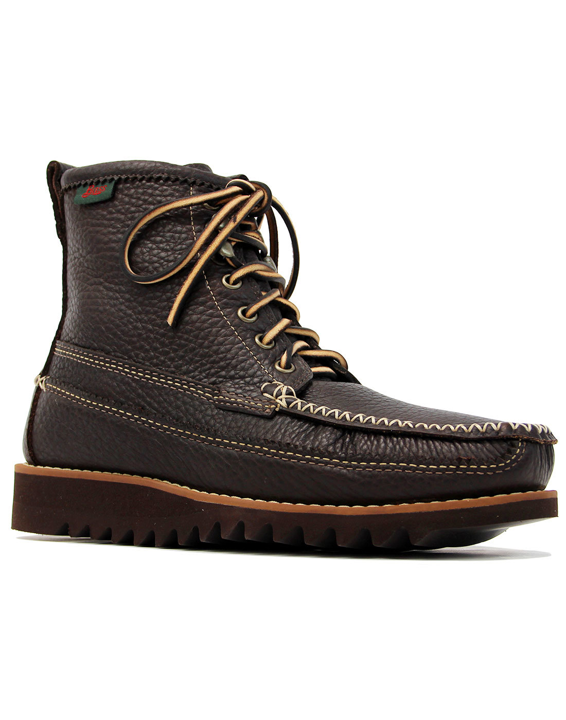 BASS WEEJUNS Ranger Moc II Lyndon Leather Boots