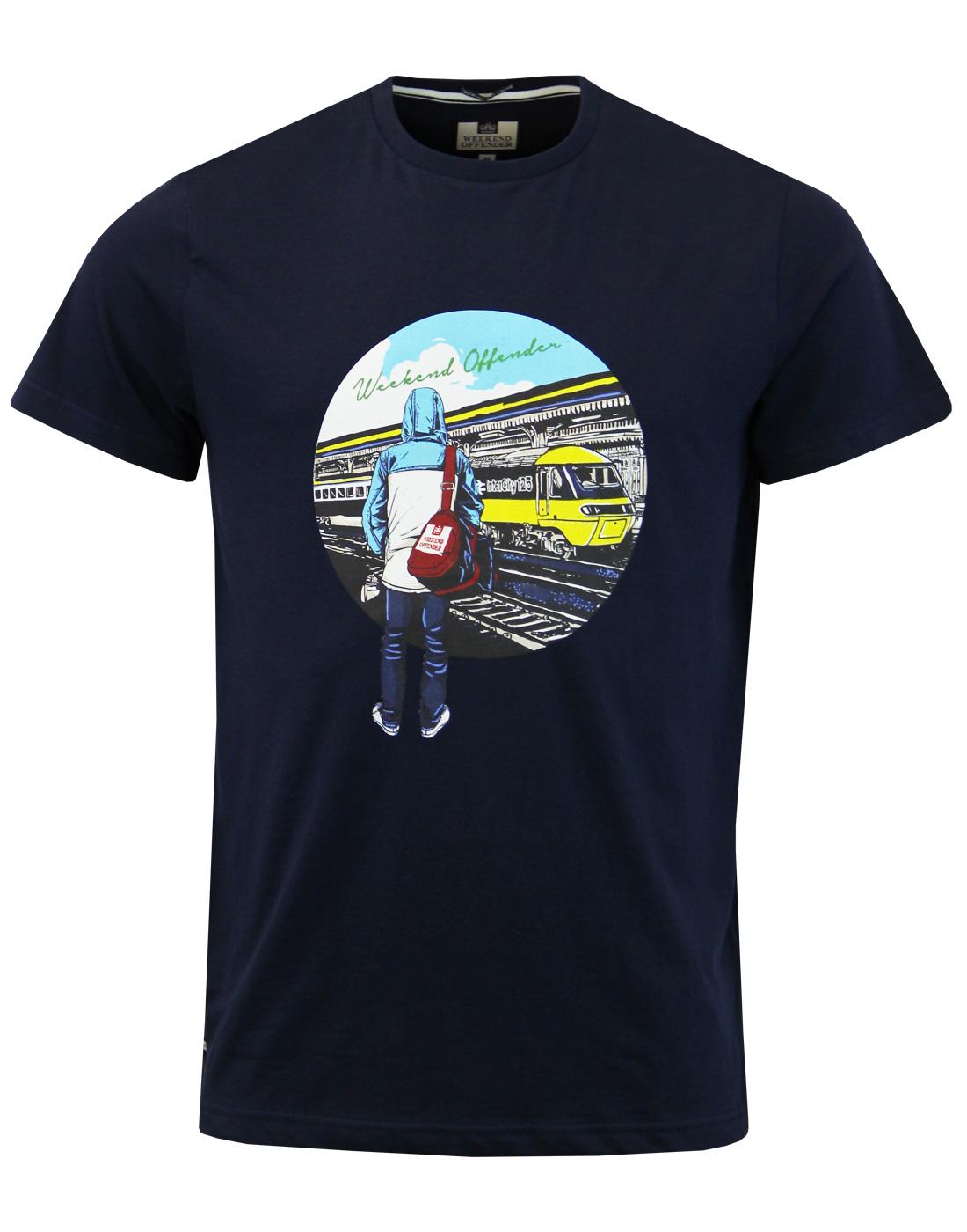 Weekend Offender Away Days Retro 80s Casuals Football T Shirt