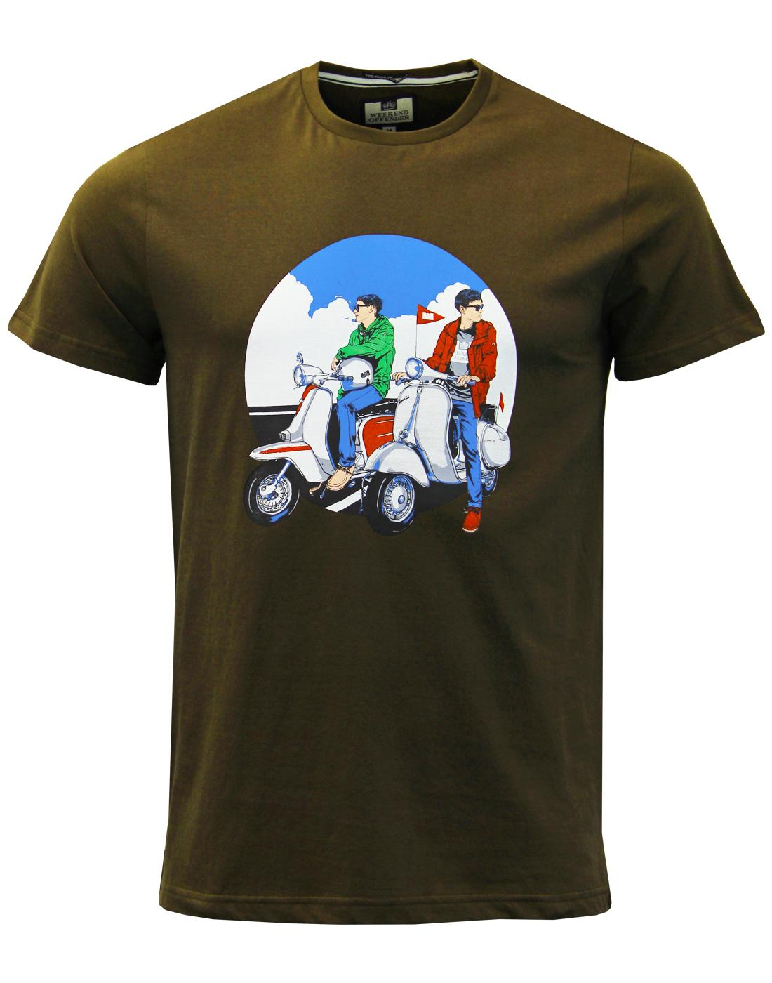 Scooters WEEKEND OFFENDER Mod Casuals T-shirt