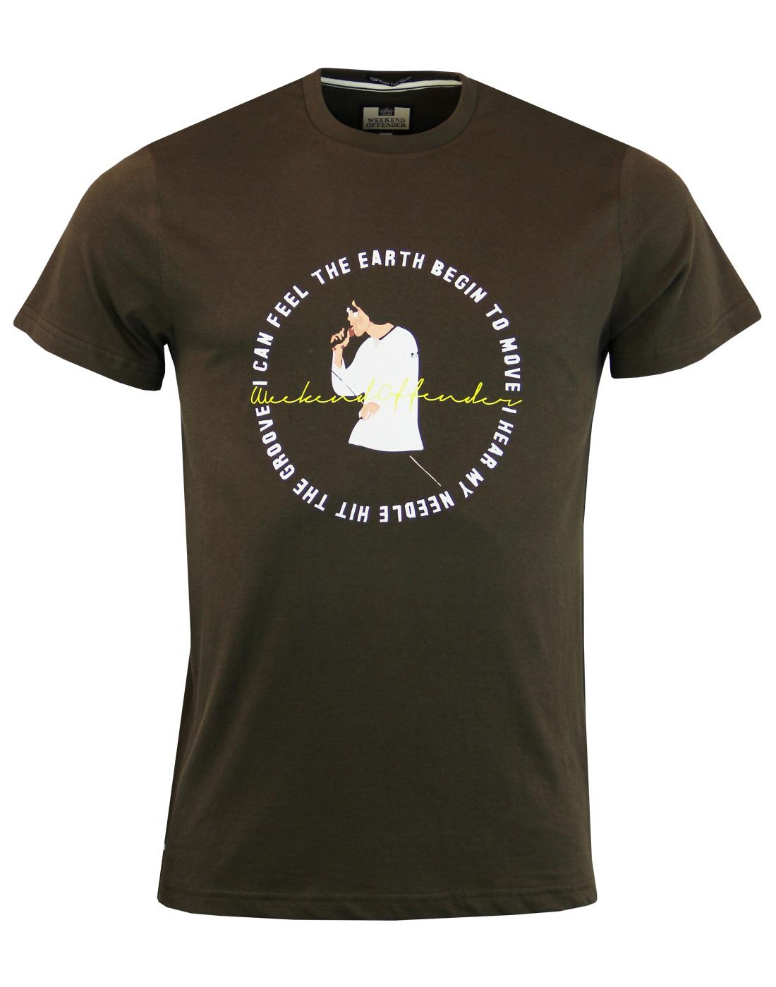 Ian WEEKEND OFFENDER She Bangs The Drums T-shirt