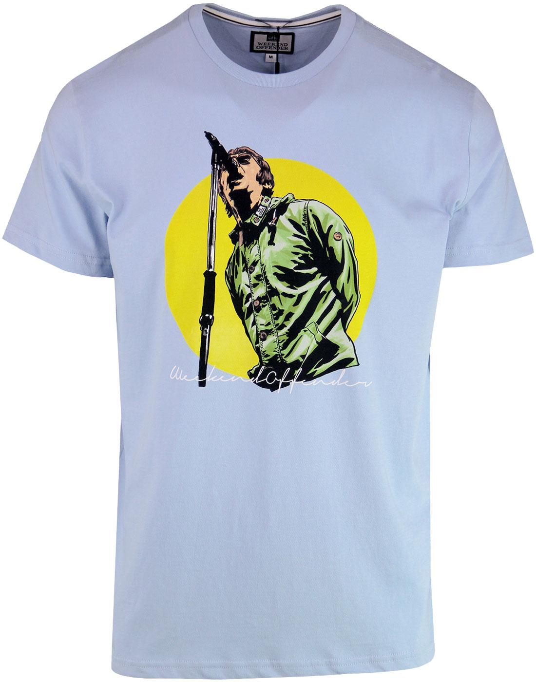 Liam WEEKEND OFFENDER Liam Gallagher 90s Tee SKY