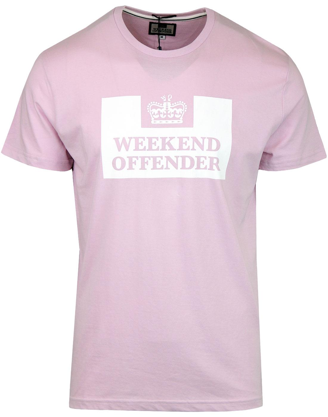 WEEKEND OFFENDER Retro Casuals Prison T-shirt (P)