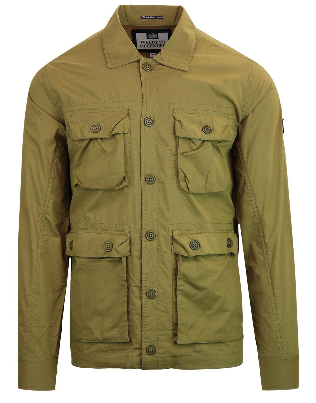 Salinger WEEKEND OFFENDER 90s Military Jacket (O)