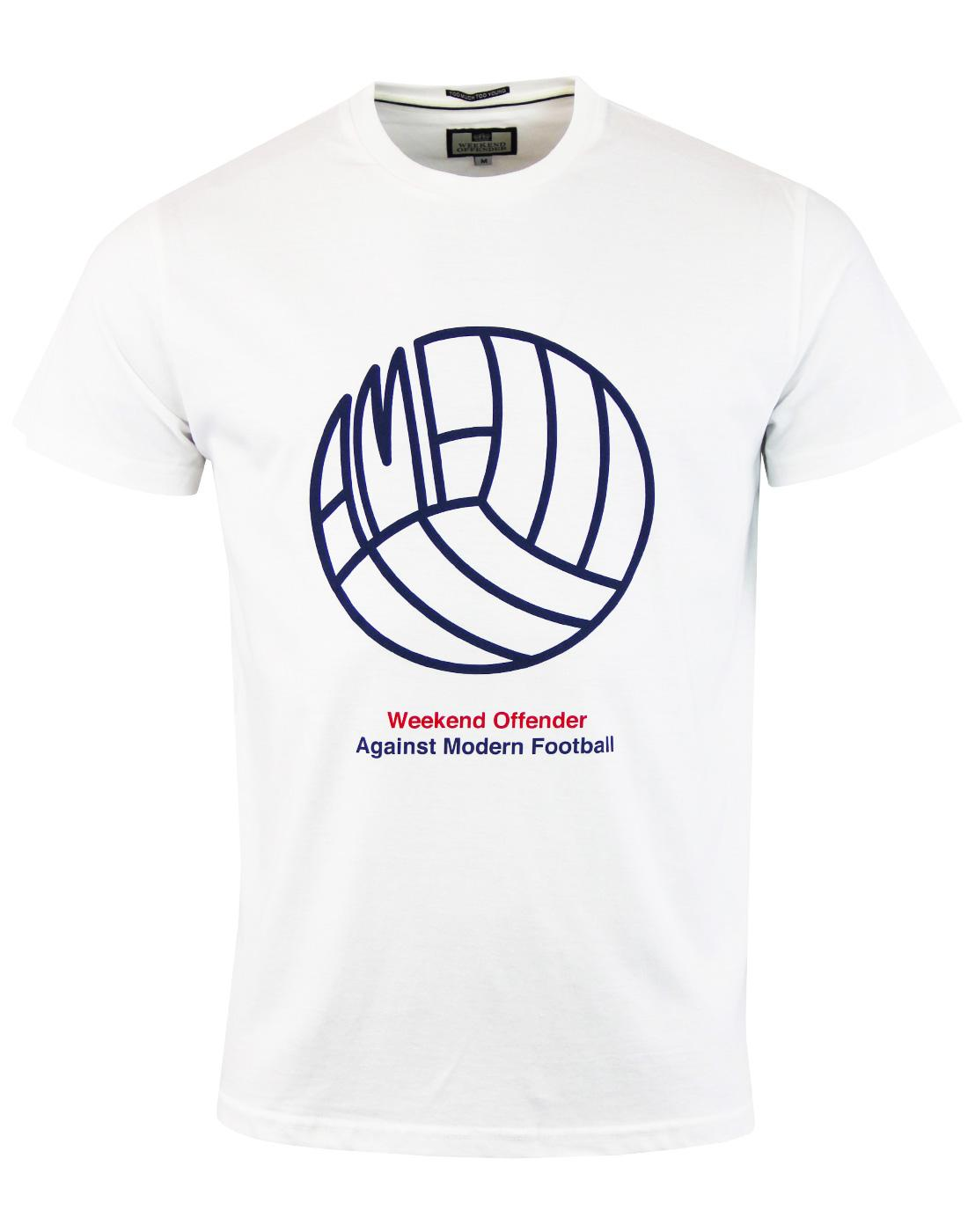 Stand AMF WEEKEND OFFENDER Retro Football Tee (W)