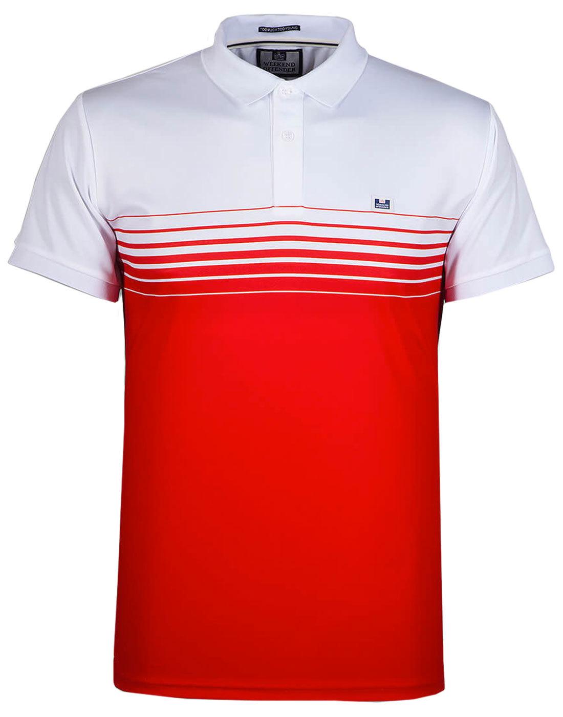 Wolfram WEEKEND OFFENDER Men's Retro Polo Shirt