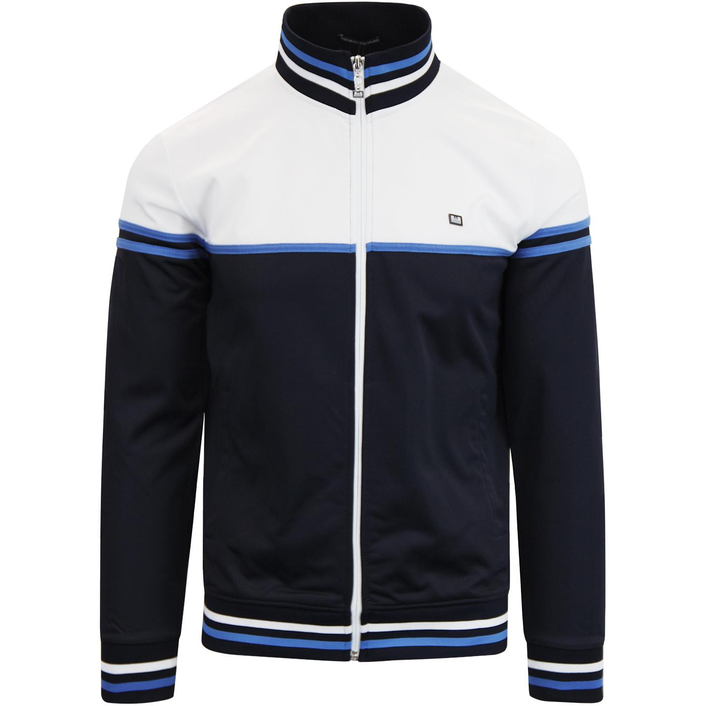 Italia WEEKEND OFFENDER Retro 80s Track Jacket (N)